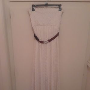 Dresses & Skirts - Lace strapless long dress